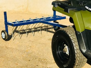 New Beaconsfield 4ft Towable Mounted Grass Tine / Harrow for Quad Bike / Compact Tractor