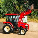 Branson 5825Ch Compact Tractor with Loader, Bucket & Pallet Tines