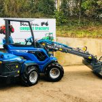 Multi One 8.4S 4WD Compact Telehandler Forklift with Pallet Tines & 4:1 Bucket