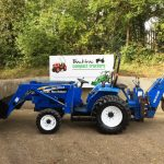 New Holland TC30 Compact Tractor with New Holland Loader, Bucket & New Holland Backhoe Mini Digger