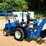 New Solis 20 Compact Tractor with Loader & Bucket and Backhoe / Mini Digger