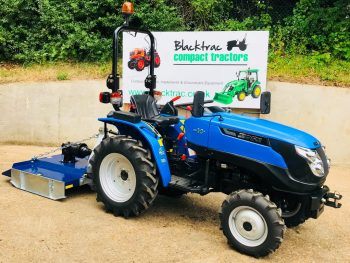 New Solis 20 Compact Tractor With New Beaconsfield 4ft Grass Topper