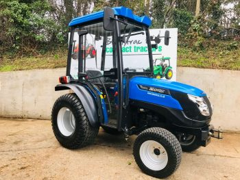 New Solis 20 Compact Tractor with Full Cab