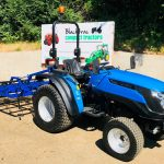 New Solis 20 Compact Tractor with New 6ft Horse Arena / Menage Grader / Leveller