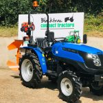 New Solis 20 Compact Tractor with New Single Furrow Reversible Plough