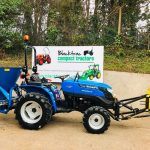 New Solis 20 Compact Tractor with New Heavy Duty Front Mounted Snowplough & New 500 Litre Fleming Grit / Salt Spreader