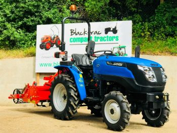 New Solis 20 Compact Tractor with New Heavy Duty 1.05m Stoneburier