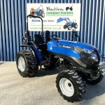 Blue Solid Compact Tractor
