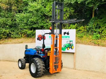 New Solis 26 Compact Tractor with New Delek 2200 Forklift