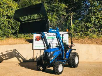 New Solis 26 Compact Tractor with Loader & 4:1 Bucket