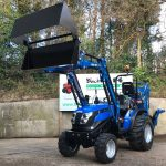 New Solis 26 Compact Tractor with Loader & 4:1 Bucket and Backhoe / Mini Digger