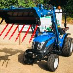 New Solis 26 Compact Tractor with Loader, 41 Bucket & Muck Fork