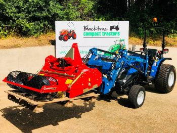 New Solis 26 Compact Tractor with Loader, 41 Bucket & Pallet Tines