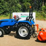 New Solis 50 Compact Tractor with New KL270SW Agrimaster Flail