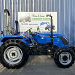 solis compact tractor side view