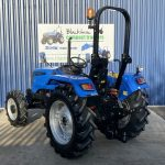 back view of solis compact tractor