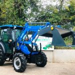 New Solis 50 4WD Compact Tractor with Solis Loader & Hydraulic 4:1 Bucket