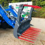 New Solis 50 4WD Compact Tractor with Solis Loader & Hydraulic Grab Fork
