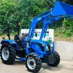 New Solis 50 4WD Compact Tractor with 5500 Loader