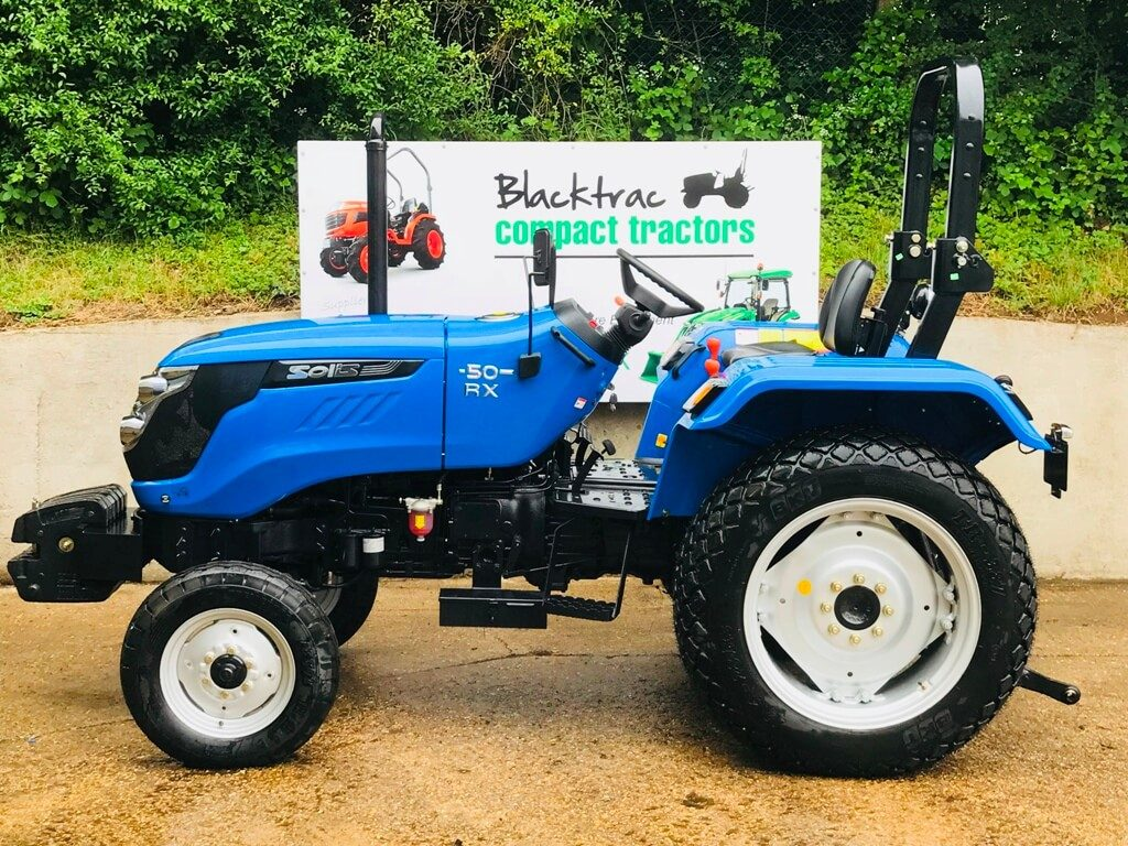 New Solis 50 Compact Tractor on Turf Tyres