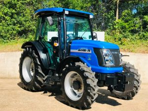 New Solis 75 4WD Compact Tractor