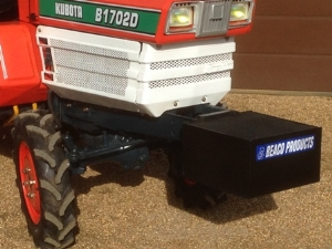 New Front Mounted Weight Box / Tool Carrier For Compact Tractor