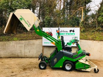 Amazone PH1250 Profihopper Diesel 4WD Outfront Flail High Tip Ride On Mower
