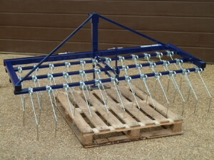 New Beaconsfield 6ft Grass Tine Weeder / Harrow for Compact Tractor