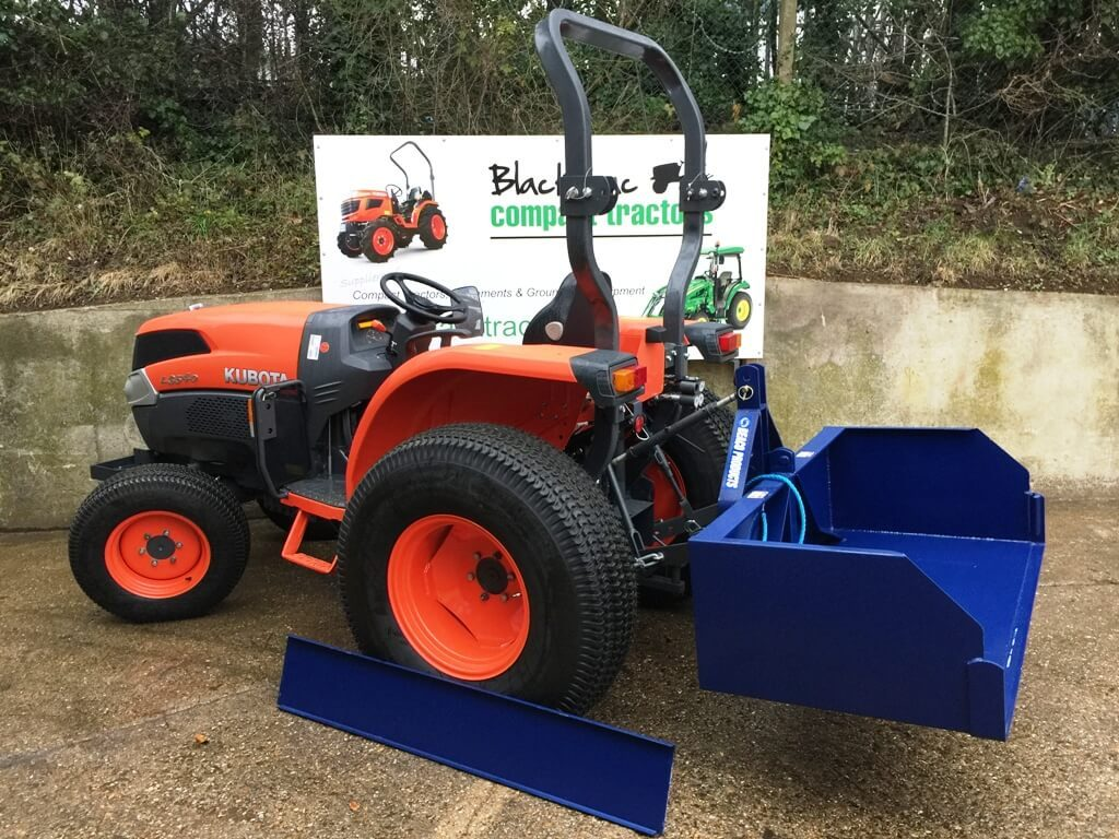 New 4ft Tipping Transport Box for Compact Tractor