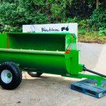 New Belmac 4 Tonne Side Barrel Muck / Manure Spreader