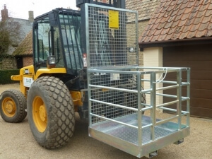 New Forklift Safety Cage / Working Platform
