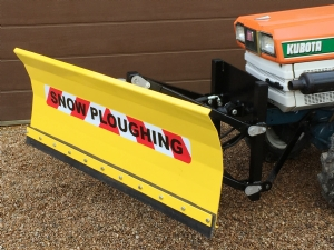 New Heavy Duty Front Mounted Snowplough