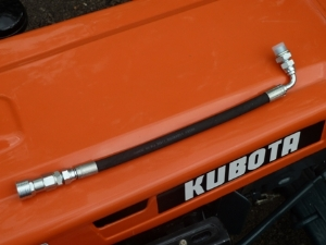 New Kubota / Iseki Hydraulic Trailer Tipping Pipe (Quick Release)