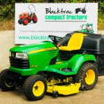 John Deere X748 4WD Diesel Ride On Mower with Collector
