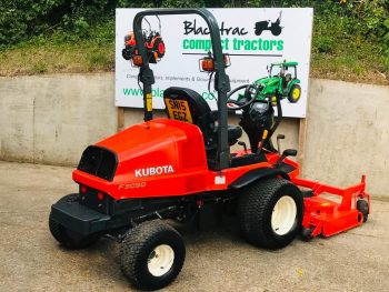 """Kubota F3090 4WD Diesel Ride on Mower with Kubota 60"""" Rear Discharge Outfront Deck"""