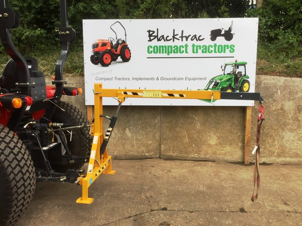 New Hydraulic Linkage Crane for Compact Tractor