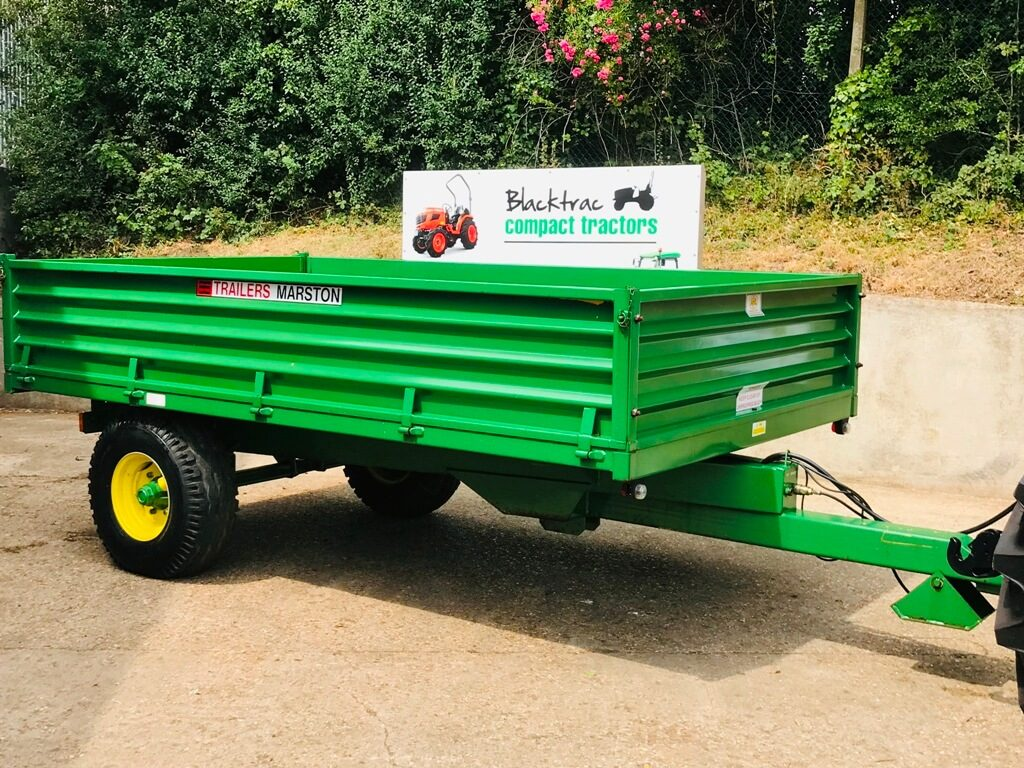 AS Marston 6 Tonne Dropside Tipping Trailer