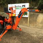 New Metro Stal BHM1000 Backhoe / Mini Digger for Compact Tractor