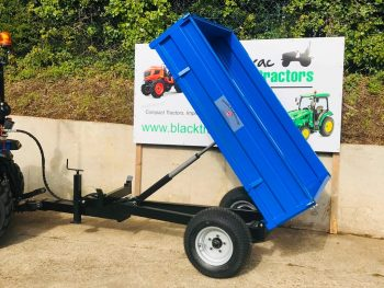 New Oxdale Heavy Duty 1.5 Tonne Dropside Tipping Trailer