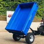 New Oxdale Heavy Duty 1.5 Tonne Dropside Tipping Trailer