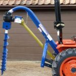 New Post Hole Borer for Compact Tractor
