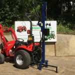 New Post Driver / Post Knocker for Compact Tractor