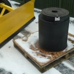 Heavy Duty Replacement Rubber Strip for Snowplough