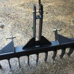 New 4ft Soil Rake for Compact Tractor