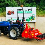 New Heavy Duty 1.05m Stoneburier for Compact Tractor