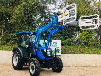 New Solis 50 Euro 8 Loader Hydraulic Bale Handler / Squeezer