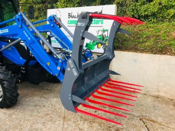 New Solis 50 Euro 8 Loader Hydraulic Grab Fork