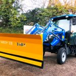 Solis 50 loader snowplough