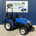 solis compact tractor with Beaconsfield mole plough