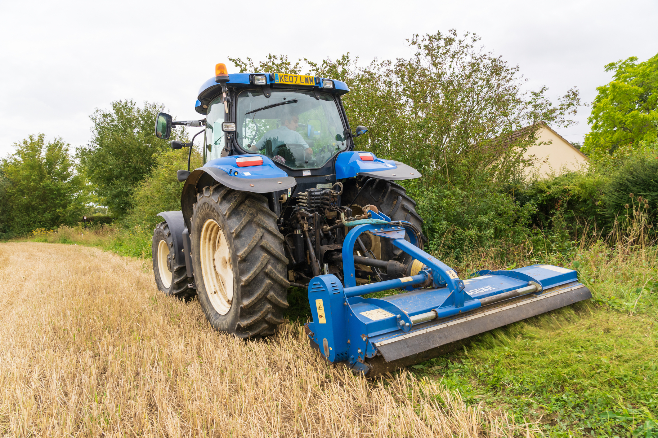 Grass tractor